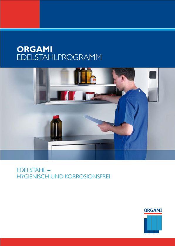 Orgami Edelstahl Katalog
